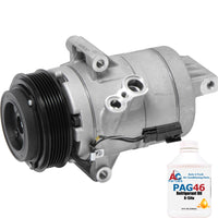 A/C Compressor New for 2012-2010 Ford Fusion 2012-2007 Lincoln MKZ 67649