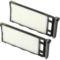 A/C Cabin Air Filters Particulate for 2004-2001 Nissan Frontier Xterra