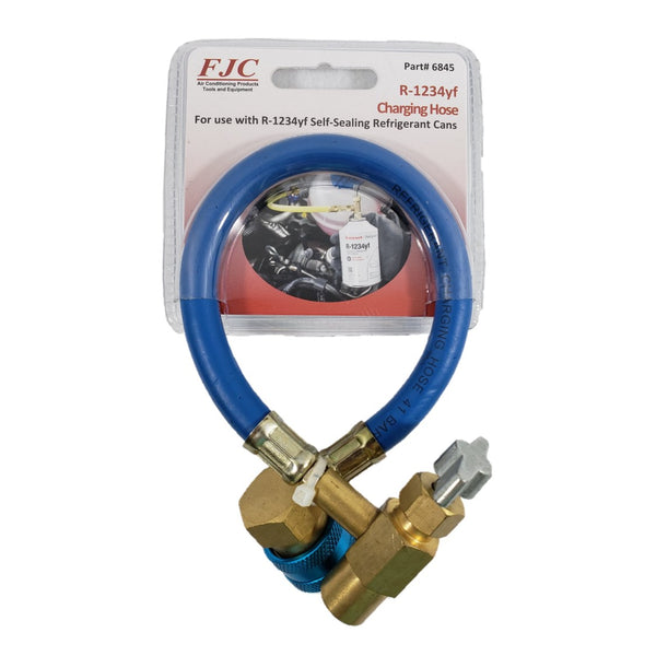 A/C Tool for R1234yf Self-Sealing Refrigerant Cans Charging Hose