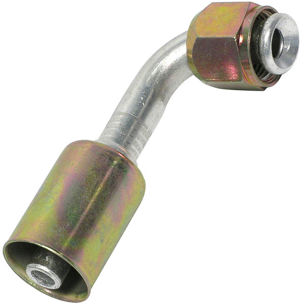 "A/C Fittings Flare-Beadlock # 8 Thread size 3/4"" - 16 - 13/32 Angle 90"