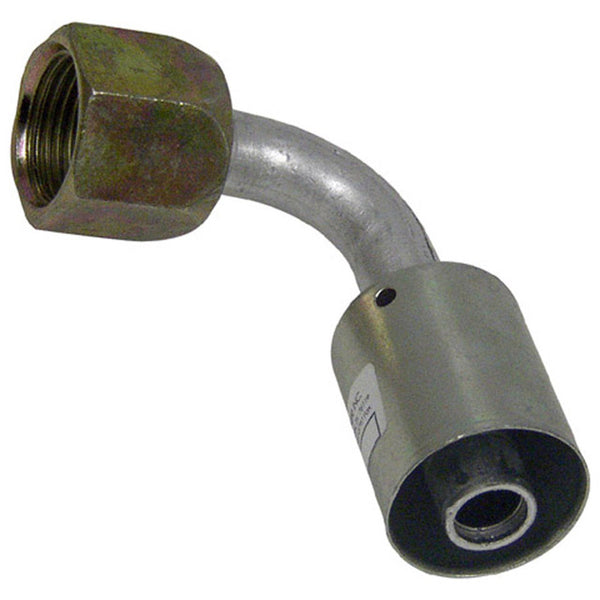 "A/C Fittings Flare-Beadlock # 10 Thread size 7/8"" - 14 - 1/2 Angle 90"
