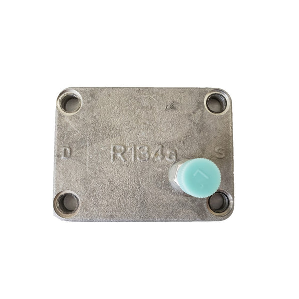 A/C Compressor Closure Pad Plates for Manifold 10PA w/ 13mm Port