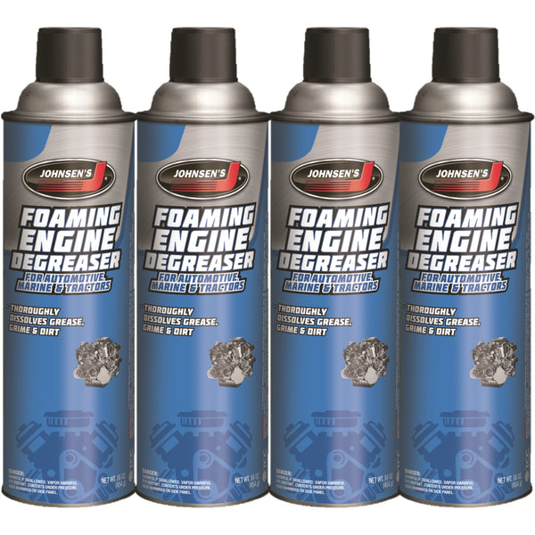 Engine Degreaser Foam Concentrate Older Dirty Engines dust and road (4) 16oz