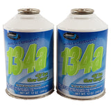 R134a + UV DYE Glow Charge Auto Truck A/C Refrigerant Gas Freon 12oz Can USA