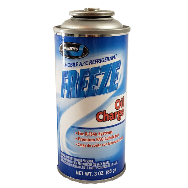 R134a + Oil Charge Auto Truck A/C Refrigerant Gas Freon (1) 3 oz Can USA