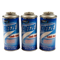 R134a + Leak Stop Auto Truck A/C Refrigerant Gas Freon 3 oz Can USA