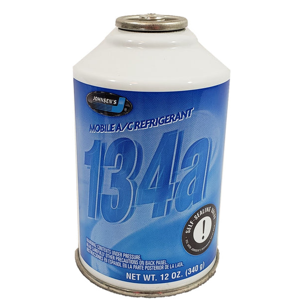 Johnsens R134a Auto A/C Air Conditioning Refrigerant Freon Gas USA 12oz