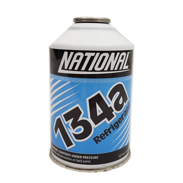 National R134a Auto A/C Air Conditioning Refrigerant Freon Gas USA 12oz
