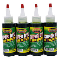 A/C Super Dye Green UV Leak Detection Concentrate Lubricant (1) 4oz Bottle