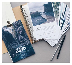 A Make Believe Reality: 2016 Calendar Process & Thoughts