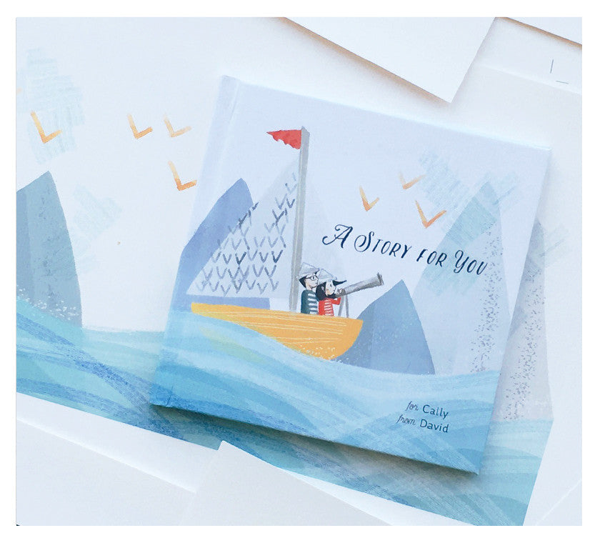 'A Story for You': Process of a Custom Illustrated Book