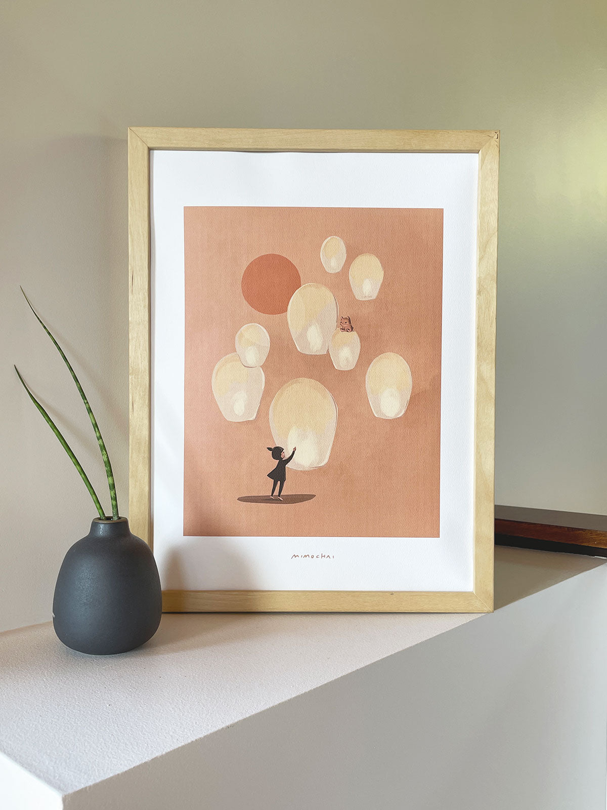 Lantern of Light Signed Art Print