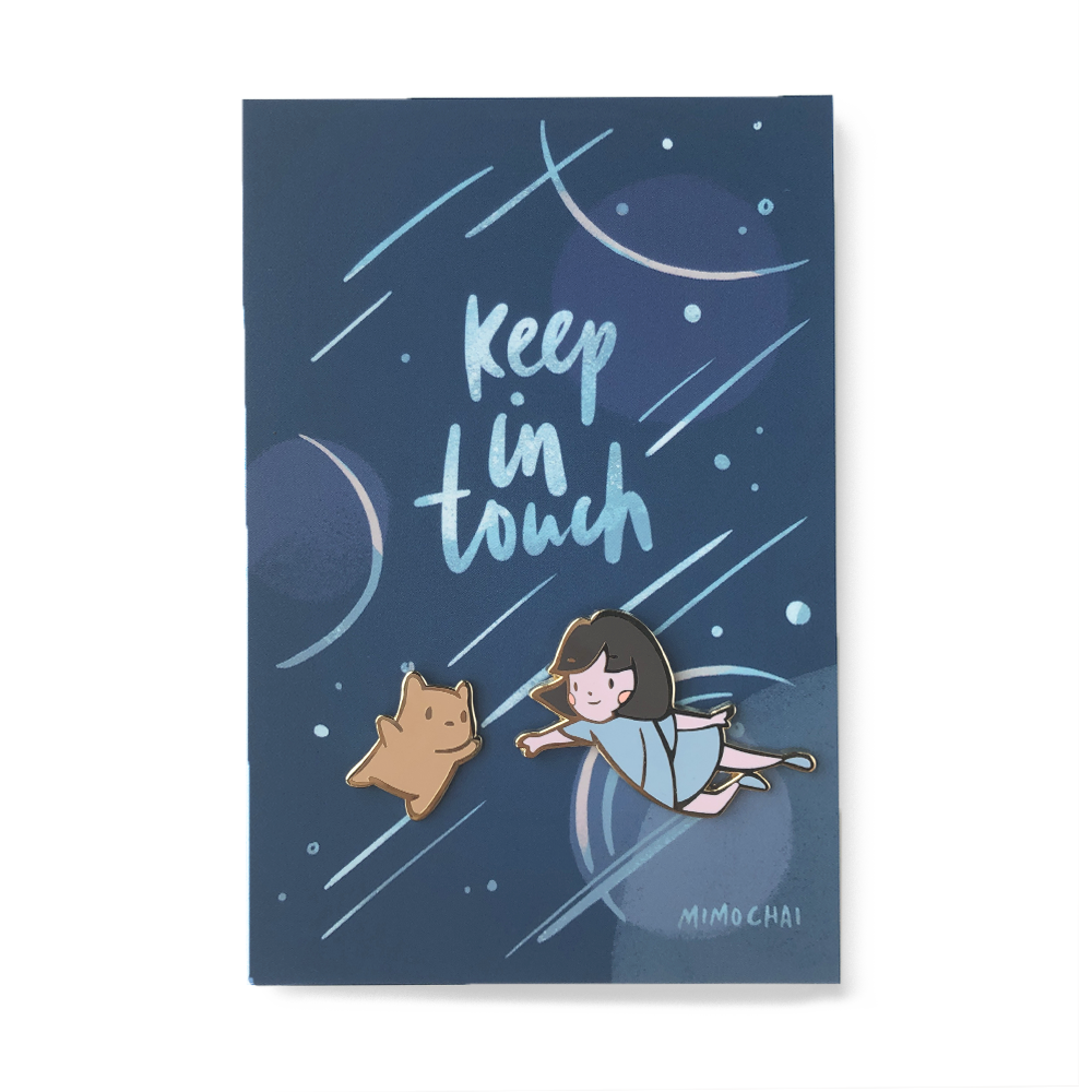 "Mimochai Pins | Emme & HSC ""Keep in Touch"""