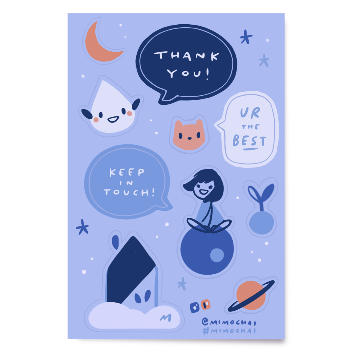 Sticker | Thank You Crew