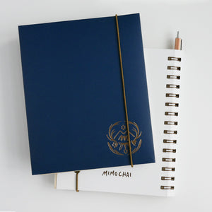 Mimochai Dark Notebook