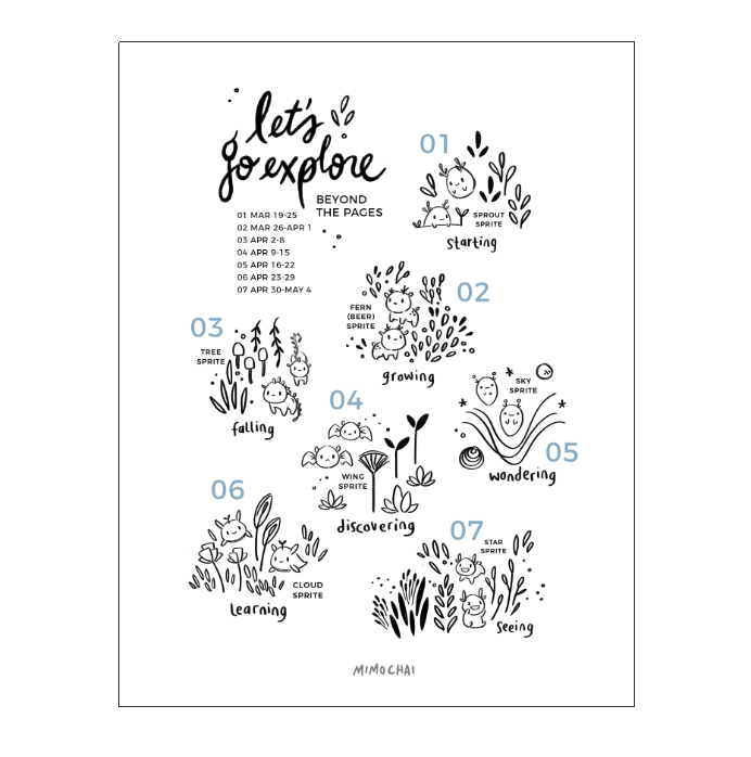 Free Let's Go Explore Beyond the Pages Sprite Guide downloadable
