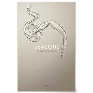 Cover of Seasons Process Digital Zine