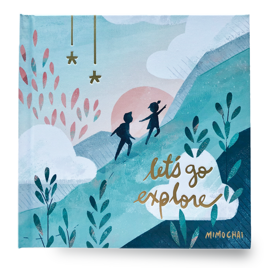 Book | Let's Go Explore Hardcover