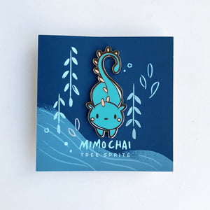 Cute Tree Sprite Enamel Pin
