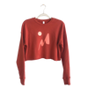 Cropped Sweater | Red Mountain