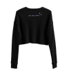 Cropped Sweater | Black Star