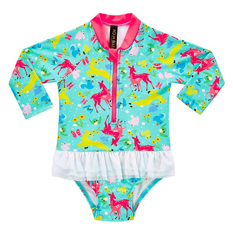 Forest Friends Swim Suit
