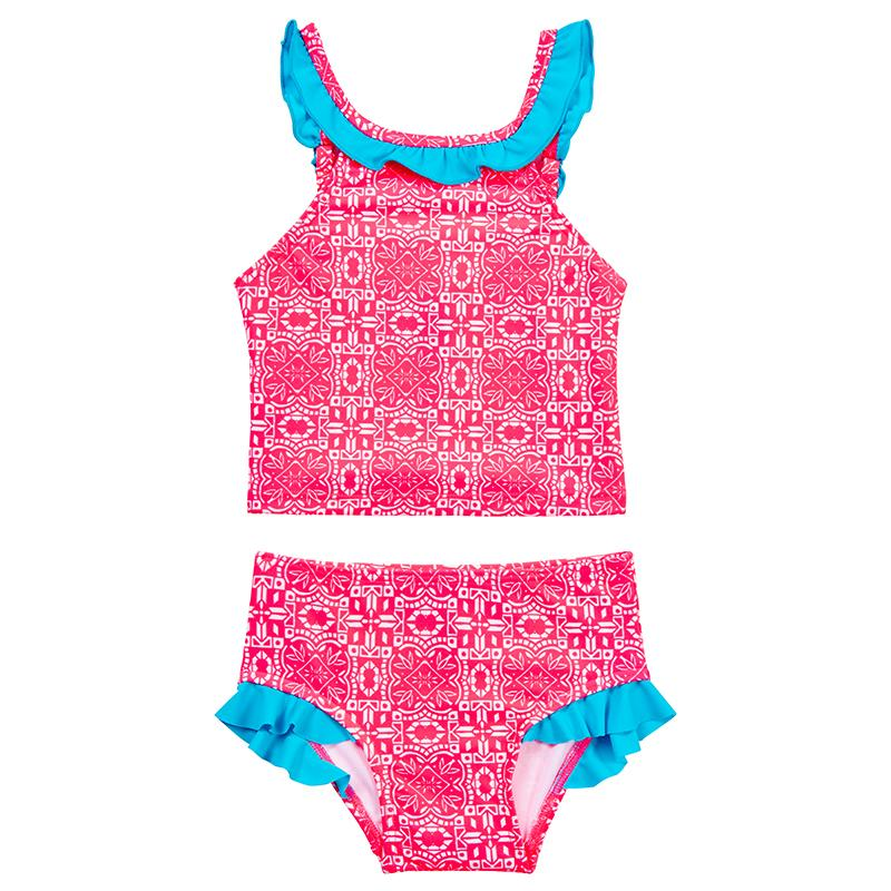 Raspberry Daze Tankini Set