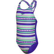 Flounce Fun Stripe One Piece