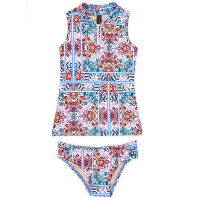 Hideaway High Neck Tankini Set