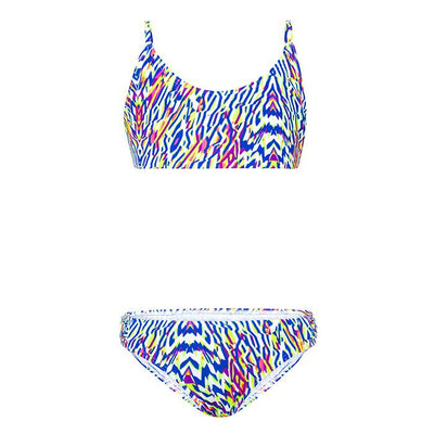 Neon Tribe Crop Bikini Set