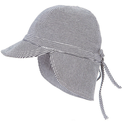 Stripe Flap Cap