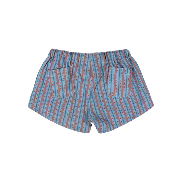 Texta Stripe Shorts
