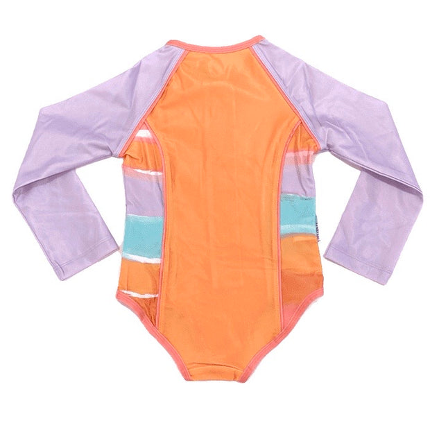 Retro Vibes Long Sleeve Onesie