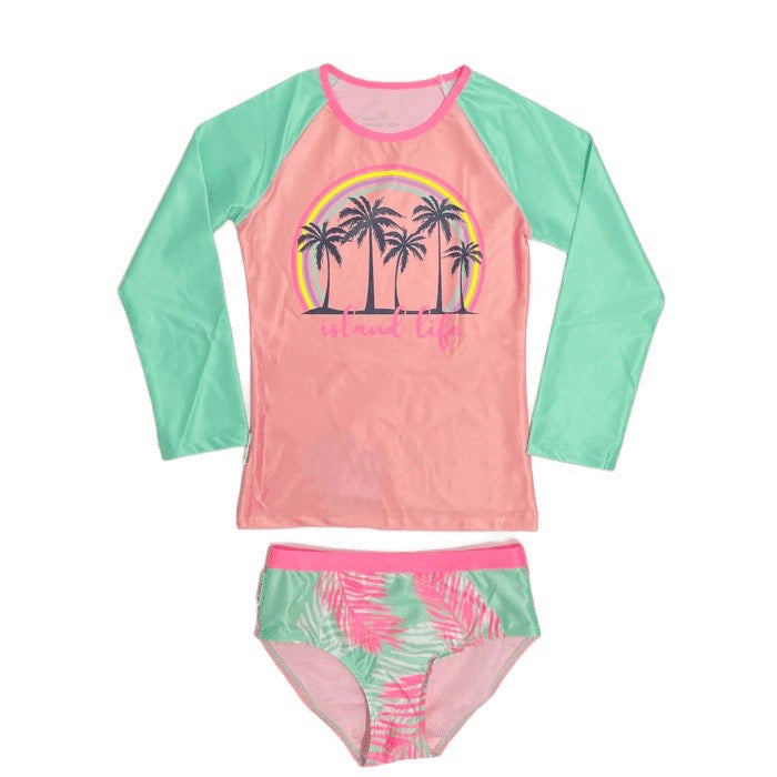 Island Life Long Sleeve Set