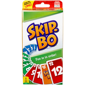 CARD GAME SKIP BO - JJs Newsagency plus