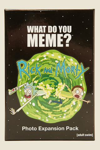 WHAT DO YOU MEME? RICK AND MORTY EXPANSION PACK - JJs Newsagency plus