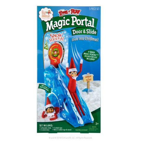 ELF ON THE SHELF ELVES AT PLAY INFLATABLES ELF DOOR AND SLIDE - Gifts R Us