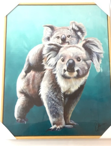 CR AUSTRALIAN ANIMALS CANVAS KOALA - Gifts R Us