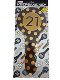 21st Key Gold Black Dot - JJs Newsagency plus