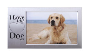 I LOVE MY DOG FRAME 6X4 - JJs Newsagency plus