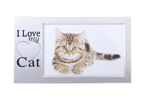 I LOVE MY CAT FRAME 6X4 - Gifts R Us