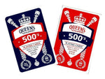 QUEEN'S SLIPPER 500'S CARDS - Gifts R Us