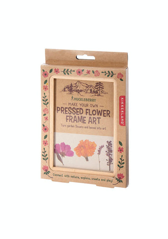 KIKKERLAND GREAT OUTDOOR FLOWER PRESS FRAME - JJs Newsagency plus