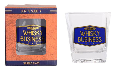 GENTS SOCIETY WHISKY GLASS - JJs Newsagency plus