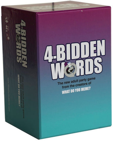 4 BIDDEN WORDS - Gifts R Us