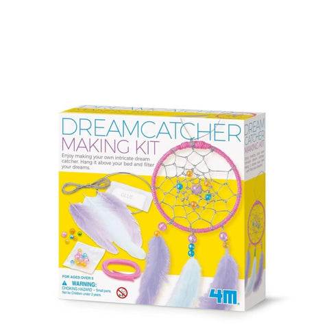 4M - LITTLE CRAFT - DREAM CATCHER MAKING KIT - Gifts R Us