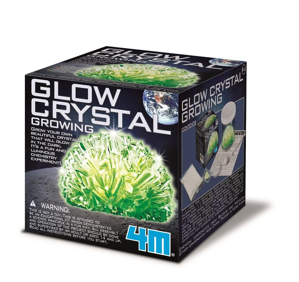 4M GLOW CRYSTAL GROWING - JJs Newsagency plus