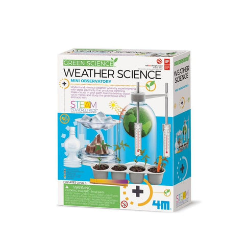4M GREEN SCIENCE WEATHER SCIENCE - JJs Newsagency plus