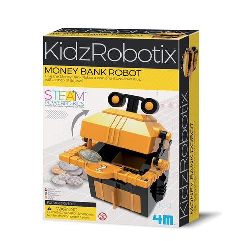 4M KIDZROBOTIX MONEY BANK ROBOT - Gifts R Us