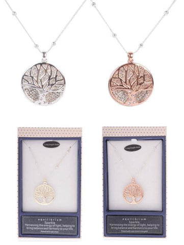EQLB T.O.L. LONG NECKLACE ROSE GOLD - Gifts R Us